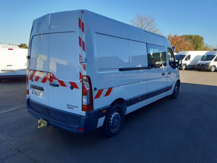 Fourgon Renault Master Fourgon Double cabine 3T5 L3H2 2.3 DCI 145CH CABINE APPROFONDIE 7 PLACES BLANC - 3