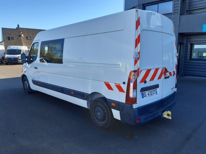 Fourgon Renault Master Fourgon Double cabine 3T5 L3H2 2.3 DCI 145CH CABINE APPROFONDIE 7 PLACES BLANC - 4