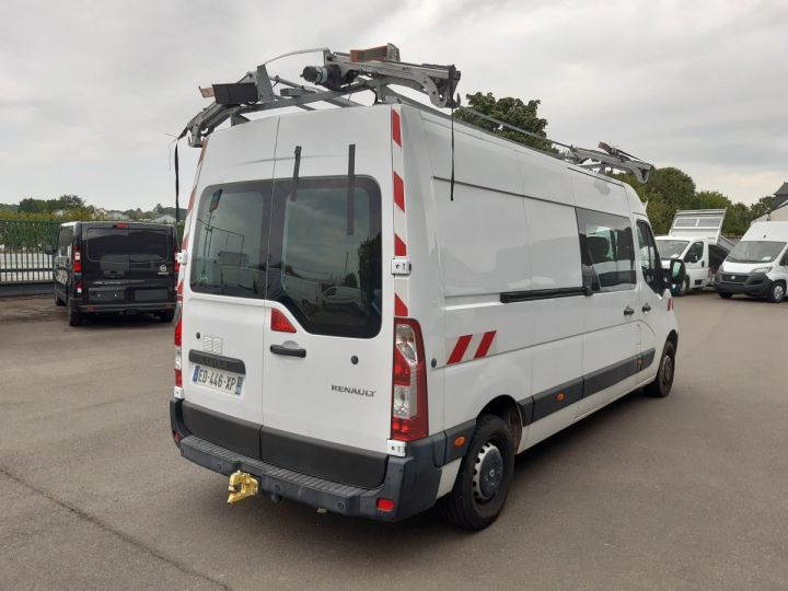 Fourgon Renault Master Fourgon Double cabine F3500 L3H2 2.3 DCI 135CH CABINE APPROFONDIE GRAND CONFORT BLANC - 3