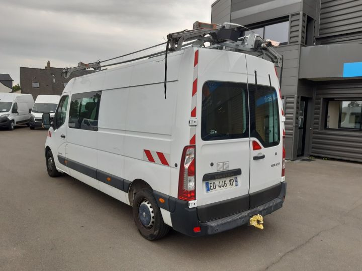 Fourgon Renault Master Fourgon Double cabine F3500 L3H2 2.3 DCI 135CH CABINE APPROFONDIE GRAND CONFORT BLANC - 4