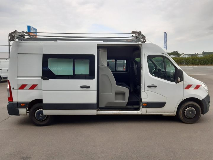 Fourgon Renault Master Fourgon Double cabine F3500 L3H2 2.3 DCI 135CH CABINE APPROFONDIE GRAND CONFORT BLANC - 10