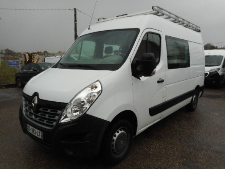 Fourgon Renault Master Fourgon Double cabine L2H2 DCI 125 DOUBLE CABINE 7 PLACES  Occasion - 1