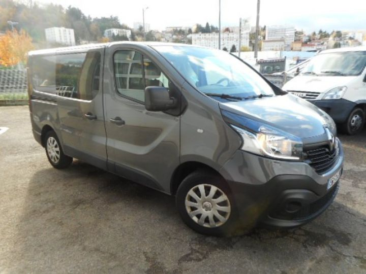 Fourgon Renault Trafic Fourgon Double cabine L1H1 DCI 120  - 3