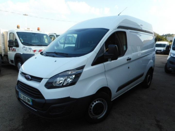 Fourgon Ford Transit Fourgon tolé CUSTOM L1H2 TDCI 105  Occasion - 1