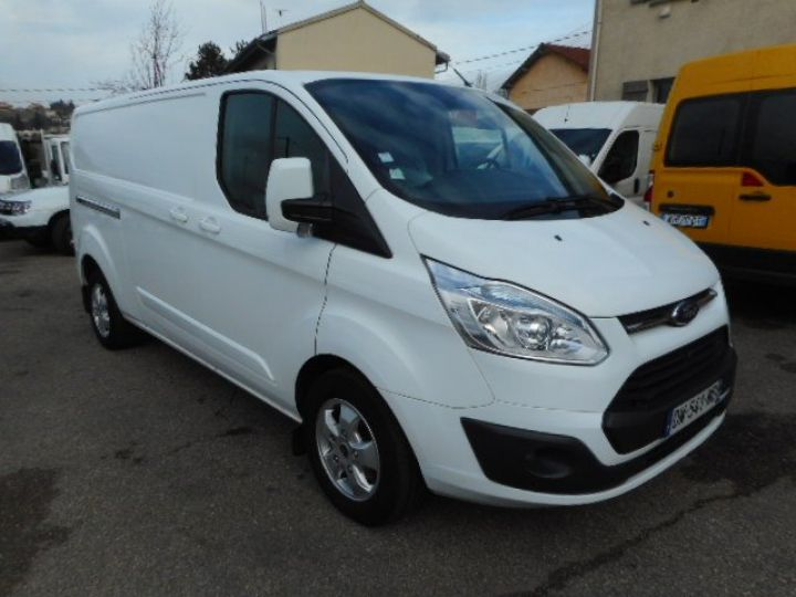 Fourgon Ford Transit Fourgon tolé CUSTOM L2H1 TDCI 155 LIMITED  Occasion - 1