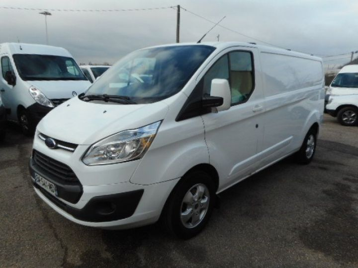 Fourgon Ford Transit Fourgon tolé CUSTOM L2H1 TDCI 155 LIMITED  Occasion - 2