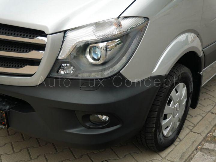 Fourgon Mercedes Sprinter Fourgon tolé 319 BlueTEC Fourgon Compact, Caméra, GPS, Attelage Argent Brillant métallisé - 9