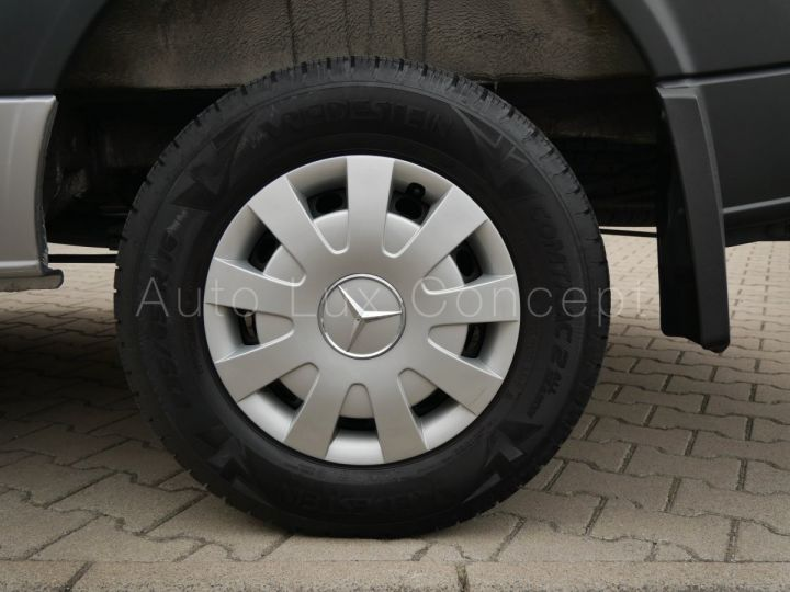 Fourgon Mercedes Sprinter Fourgon tolé 319 BlueTEC Fourgon Compact, Caméra, GPS, Attelage Argent Brillant métallisé - 11