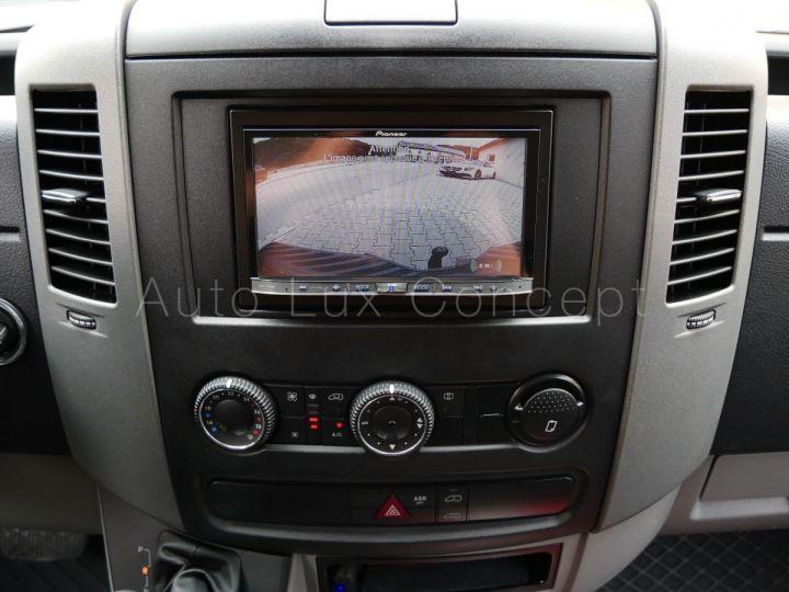 Fourgon Mercedes Sprinter Fourgon tolé 319 BlueTEC Fourgon Compact, Caméra, GPS, Attelage Argent Brillant métallisé - 17