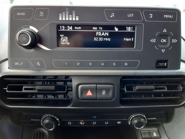 Fourgon Opel Combo Fourgon tolé L1H1 650KG 1.5D 75CH PACK CLIM NOIR - 11