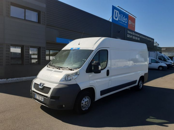 Fourgon Peugeot Boxer Fourgon tolé 335 L3H2 2.2 HDI 130CH PACK CLIM BLANC - 1