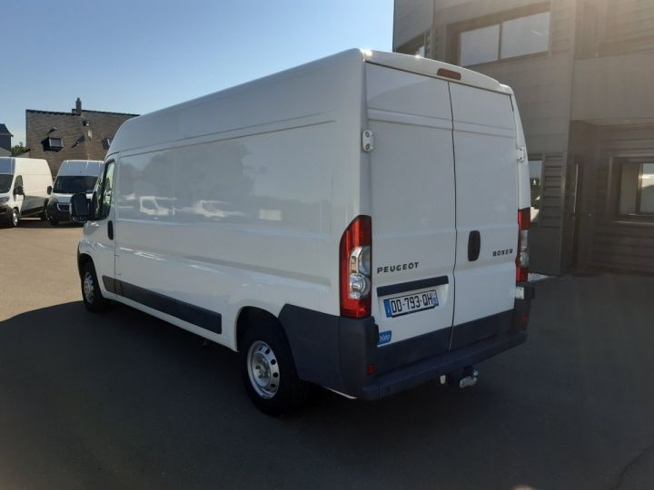 Fourgon Peugeot Boxer Fourgon tolé 335 L3H2 2.2 HDI 130CH PACK CLIM BLANC - 4