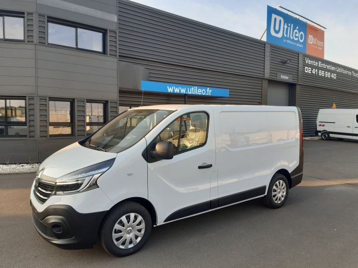 Fourgon Renault Trafic Fourgon tolé L1H1 2.0 BLUE DCI 120CH GRAND CONFORT BLANC - 1