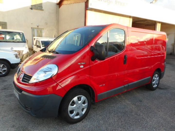 Fourgon Renault Trafic Fourgon tolé L1H1 DCI 115  Occasion - 1
