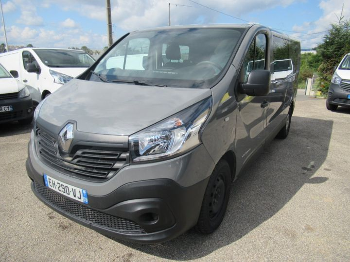 Fourgon Renault Trafic Fourgon tolé L2H1 DCI 145 DOUBLE CABINE  - 2