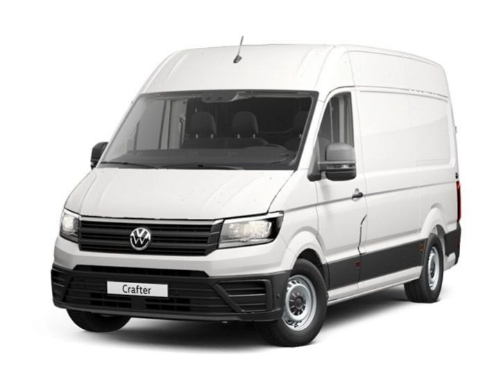 Fourgon Volkswagen Crafter Fourgon tolé BLANC - 1