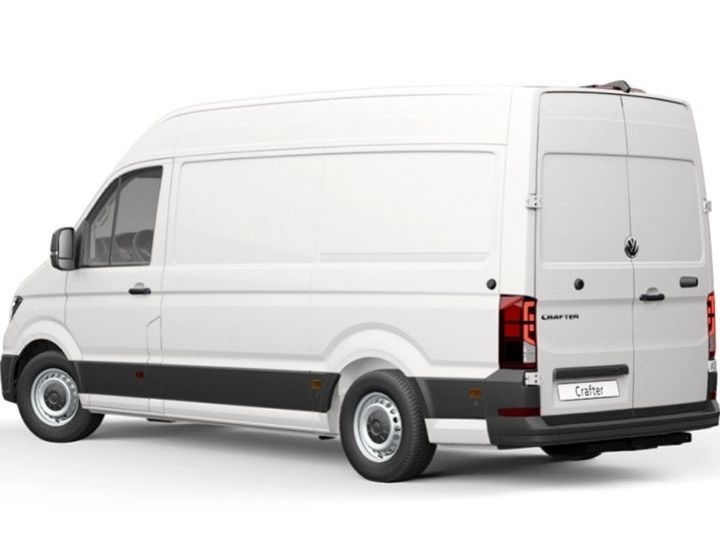 Fourgon Volkswagen Crafter Fourgon tolé BLANC - 2