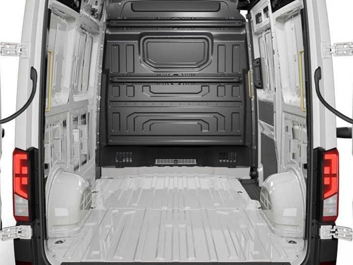 Fourgon Volkswagen Crafter Fourgon tolé BLANC - 3