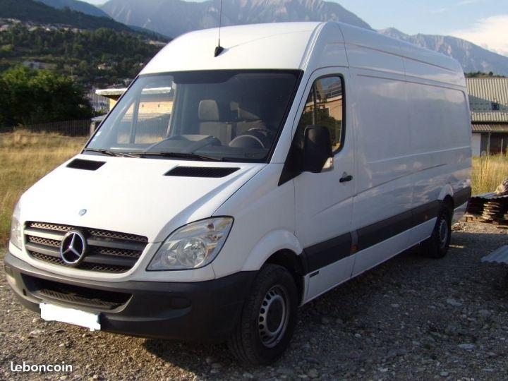 Fourgon Mercedes Sprinter Blanc - 1