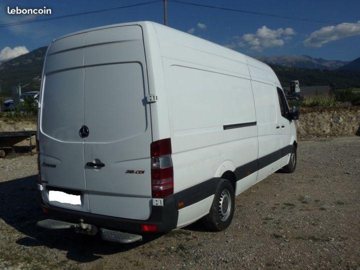 Fourgon Mercedes Sprinter Blanc - 2