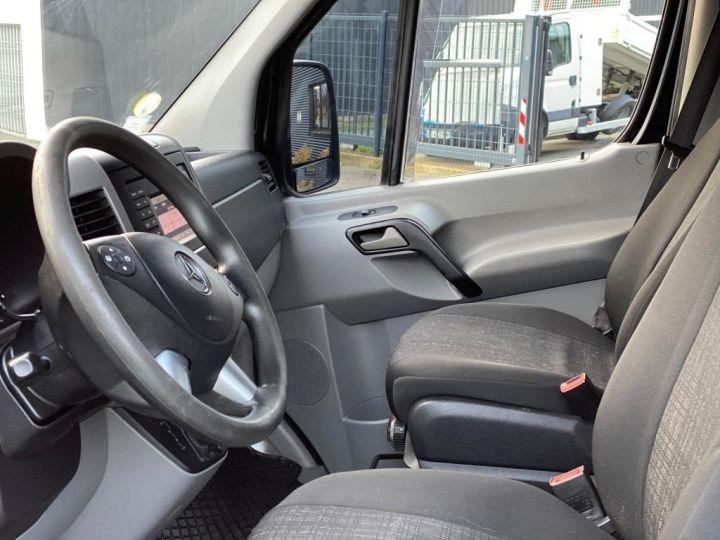 Fourgon Mercedes Sprinter 519 43 S FOURGON CABINE APPROFONDIE 5 PLACES CROCHET BOITE AUTOMATIQUE NOIR - 7