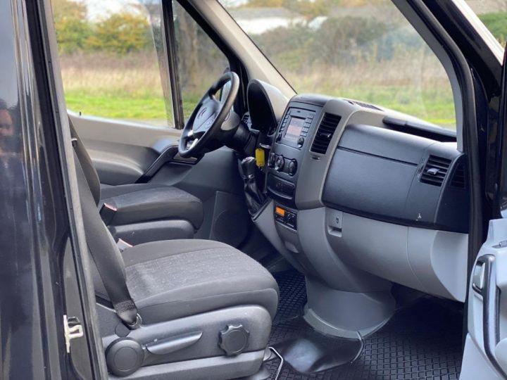 Fourgon Mercedes Sprinter 519 43 S FOURGON CABINE APPROFONDIE 5 PLACES CROCHET BOITE AUTOMATIQUE NOIR - 8