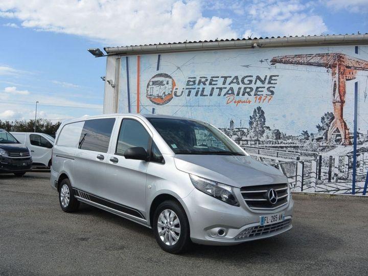Fourgon Mercedes Vito 116 CDI 7G-TRONIC MIXTO LONG SELECT + OPTIONS GRIS METAL - 5