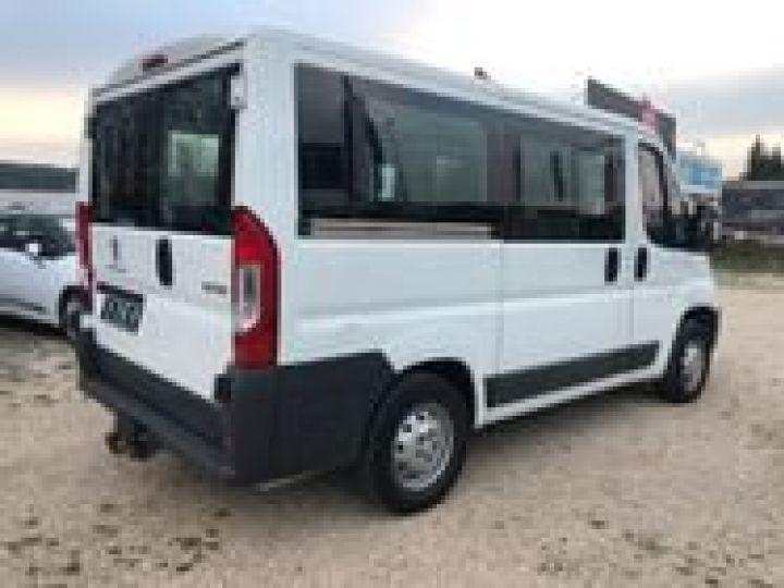 Fourgon Peugeot Boxer Minibus 2.2 HDI 130 CONFORT 9 PLACES  BLANC  - 4
