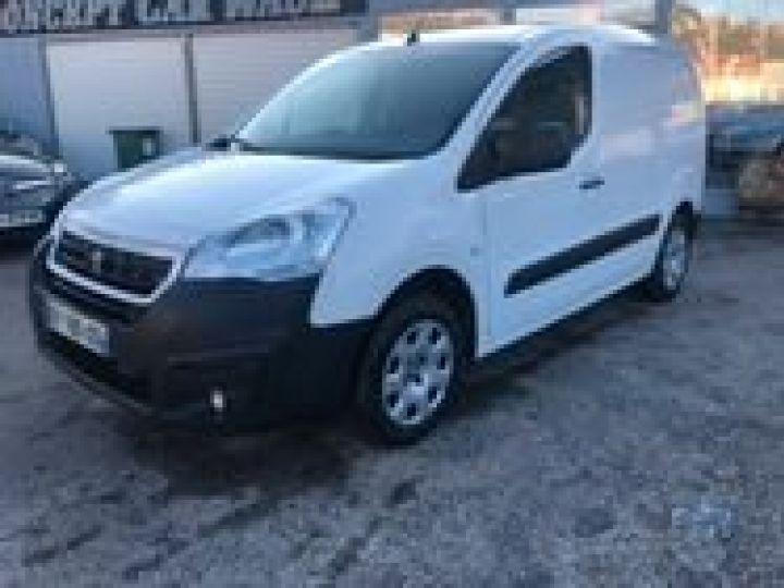 Fourgon Peugeot Partner BLUEHDI 100 PREMIUM  BLANC  - 1