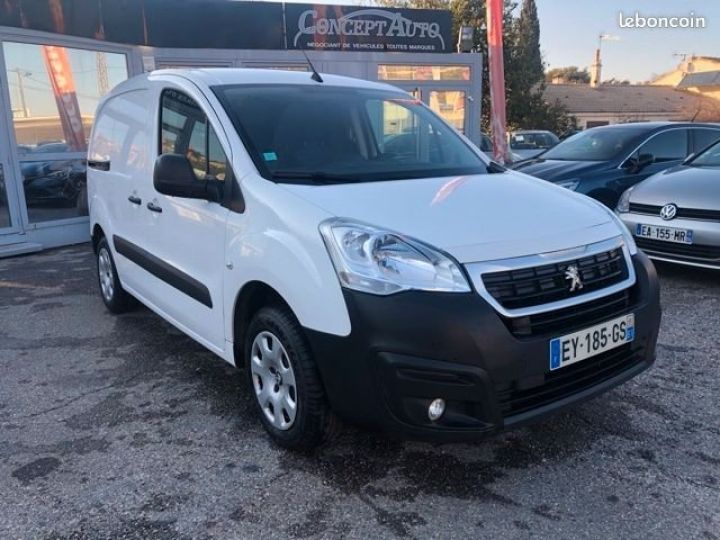 Fourgon Peugeot Partner BLUEHDI 100 PREMIUM  BLANC  - 2