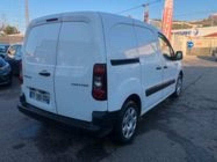 Fourgon Peugeot Partner BLUEHDI 100 PREMIUM  BLANC  - 3