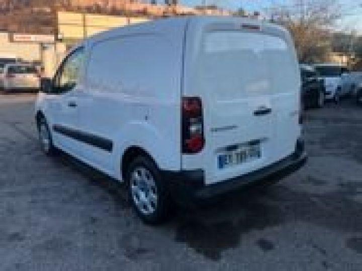 Fourgon Peugeot Partner BLUEHDI 100 PREMIUM  BLANC  - 4