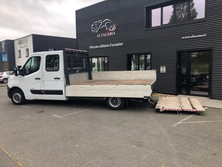 Fourgon Renault Master Plateau 7 PLACES HAYON DOUBLE CABINE BLANC - 6