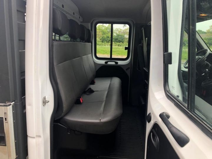 Fourgon Renault Master Plateau 7 PLACES HAYON DOUBLE CABINE BLANC - 8