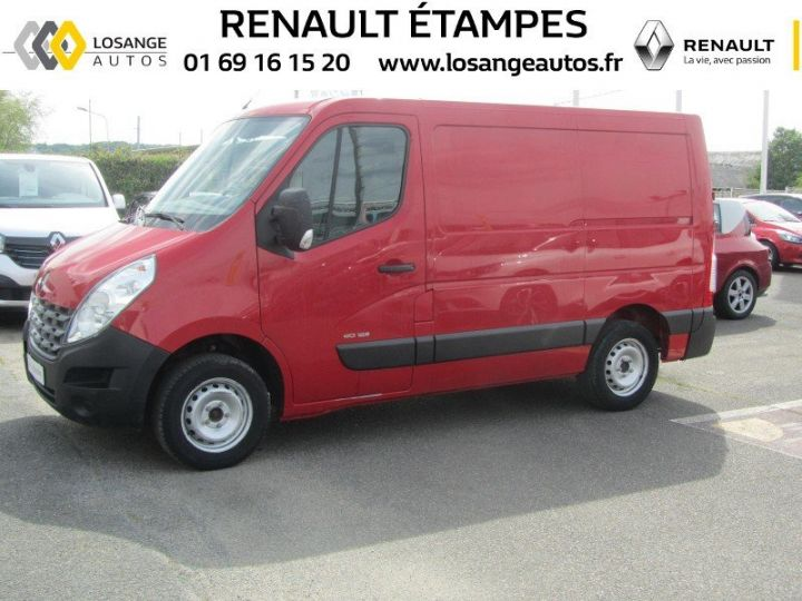 Fourgon Renault Master F3500 L1H1 dCi 125 Grand Confort ROUGE - 1