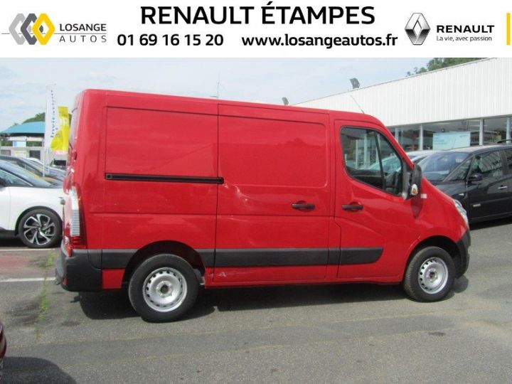 Fourgon Renault Master F3500 L1H1 dCi 125 Grand Confort ROUGE - 2