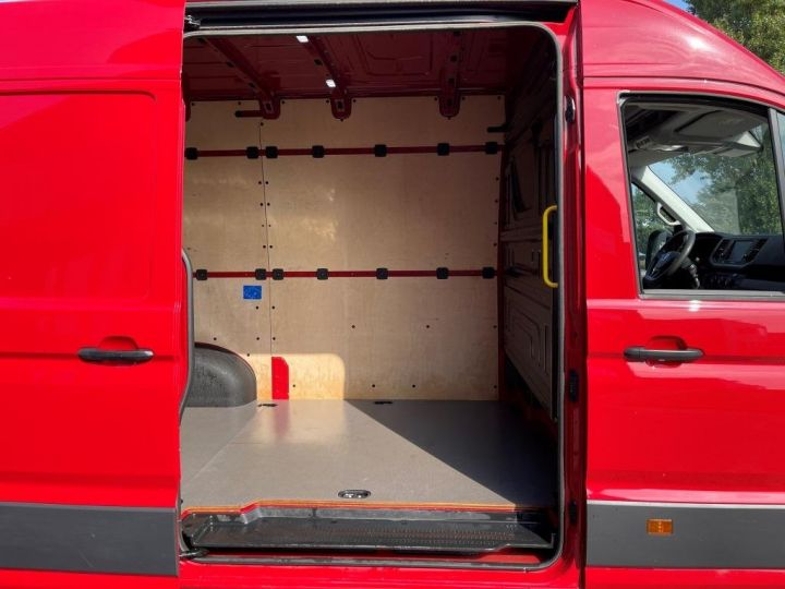 Fourgon Volkswagen Crafter 2.0l 177 CV L3H3 11m3 CROCHET D'ATTELAGE  ROUGE - 5