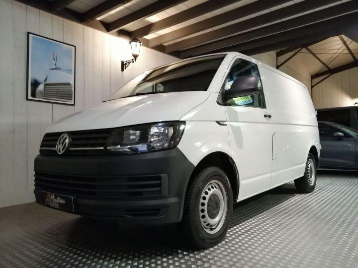 Fourgon Volkswagen Transporter T6 2.0 TDI 140 CV Blanc - 2
