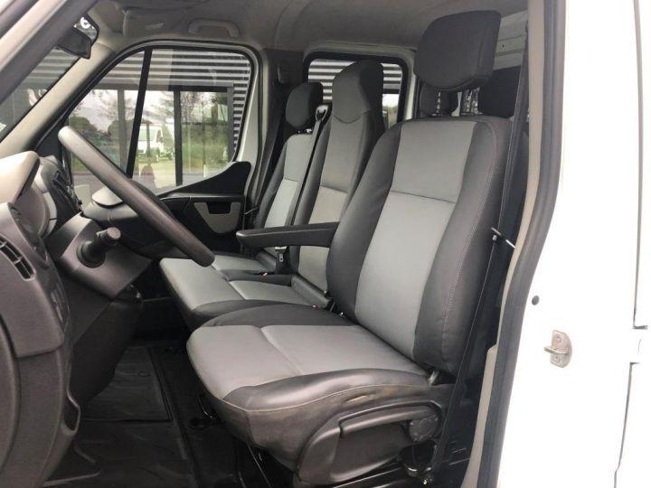 Furgón Renault Master Caja abierta 7 PLACES HAYON DOUBLE CABINE BLANC - 7