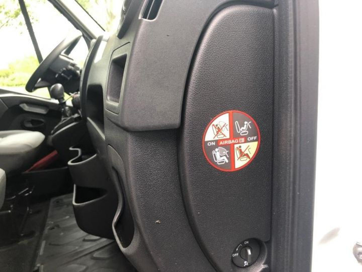Furgón Renault Master Caja abierta 7 PLACES HAYON DOUBLE CABINE BLANC - 11