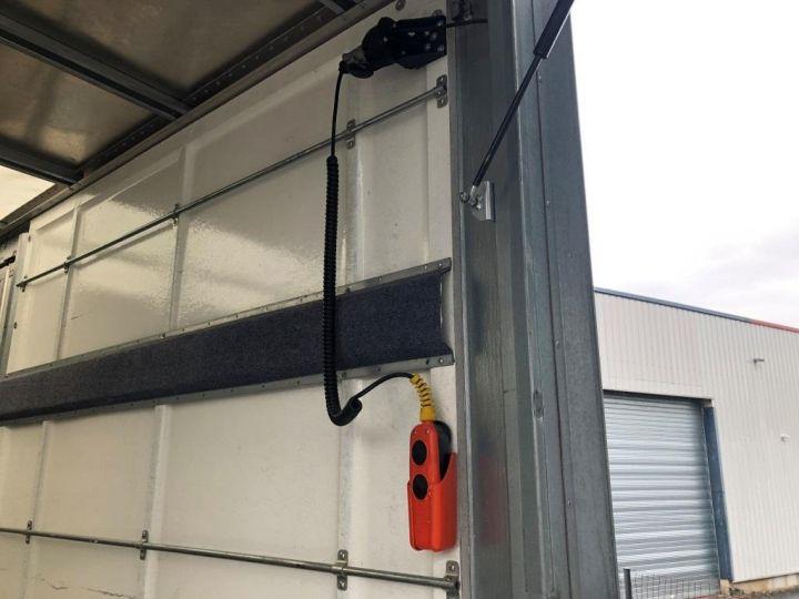 Furgón Iveco Daily Caja cerrada + Plataforma elevadora 35C14 22M3 HAYON CAPUCINE PORT BLANC - 7