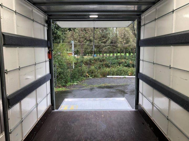 Furgón Iveco Daily Caja cerrada + Plataforma elevadora 35C14 22M3 HAYON CAPUCINE PORT BLANC - 9