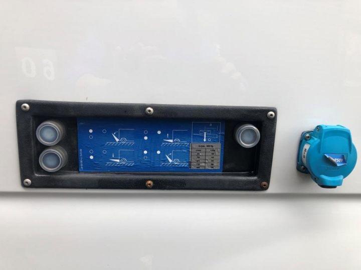 Furgón Nissan NV400 Caja cerrada + Plataforma elevadora 125 FOURGON 7 PLACES HAYON ELEVATEUR CLIMATISE L3H2 BLANC - 9
