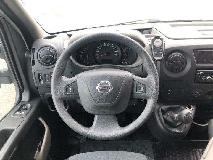 Furgón Nissan NV400 Caja cerrada + Plataforma elevadora 125 FOURGON 7 PLACES HAYON ELEVATEUR CLIMATISE L3H2 BLANC - 19