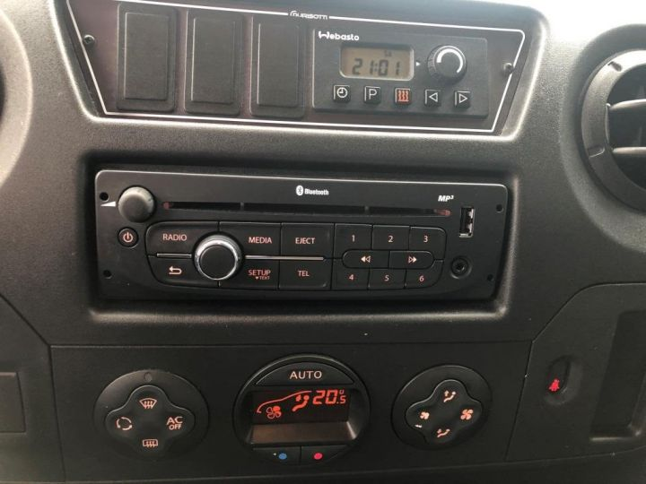 Furgón Nissan NV400 Caja cerrada + Plataforma elevadora 125 FOURGON 7 PLACES HAYON ELEVATEUR CLIMATISE L3H2 BLANC - 20
