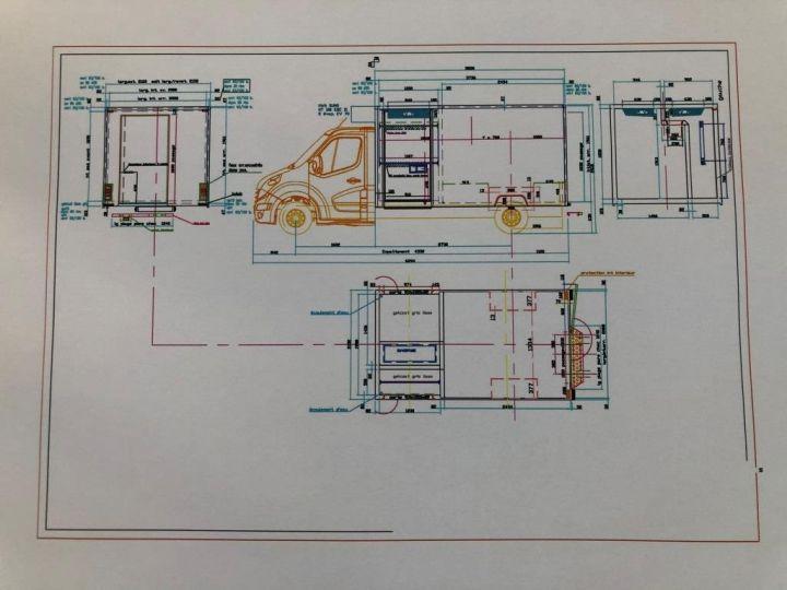 Furgón Renault Master Caja frigorífica 125 CV FOURGON FRIGORIFIQUE MULTI TEMPERATURE FRC X BLANC - 14