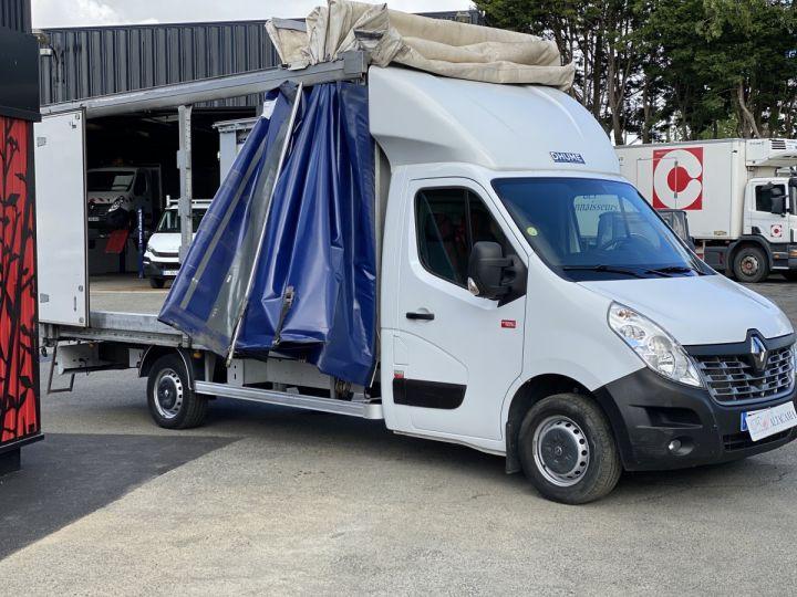Furgón Renault Master 145 CV PLSC LONG RIDEAU COULISSANT TOIT DEBACHABLE BLANC - 10