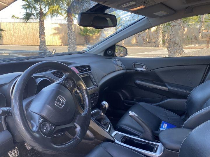 Honda Civic 2.2 150CH I-DTEC EXCLUSIVE NAVI Gris F - 2