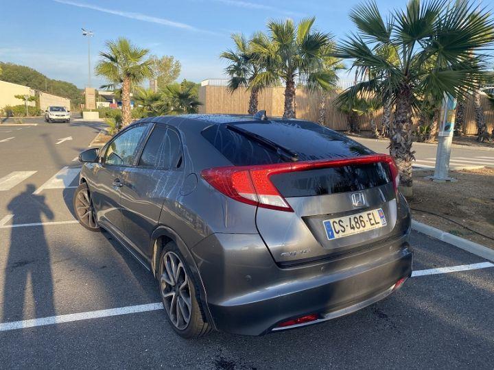 Honda CIVIC 2.2 150CH I-DTEC EXCLUSIVE NAVI Gris F - 3