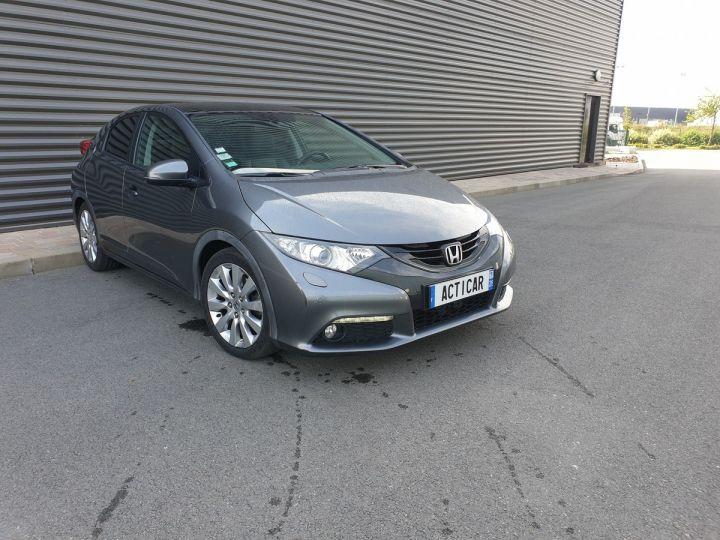 Honda Civic 9 2.2 dtec 150 exclusive navi bv6 Gris Foncé Occasion - 2